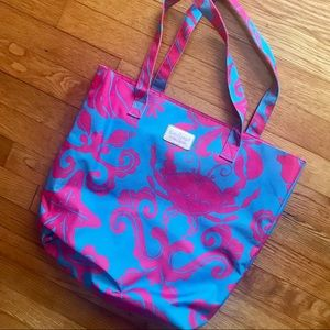 Lilly Pulitzer for Estée Lauder Sea Life Tote